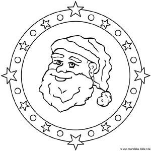 Mandalas Fur Kinder Zu Weihnachten Weihnachtsmandala Zum Ausmalen Ausmalbilder Weihnachtsmann Weihnachtsmandala Ausmalen