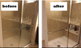 How To Clean Black Mold From Shower Silicone Sealant Ncleaningtips Com Shower Doors Clean Shower Doors Clean Black Mold
