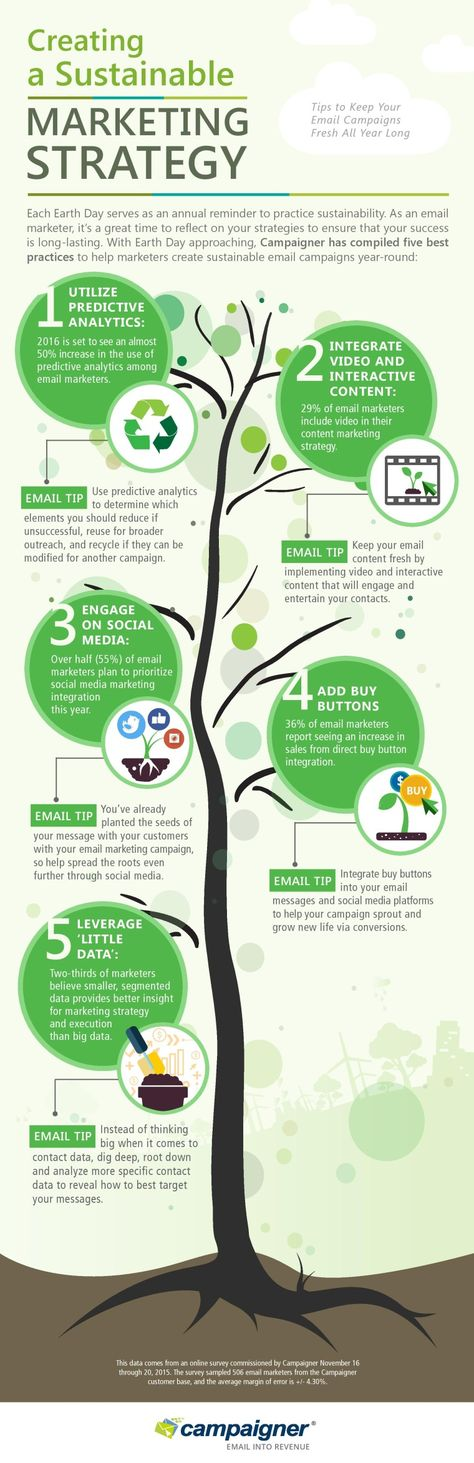 Interesting Infographics: Creating a Sustainable Marketing Strategy