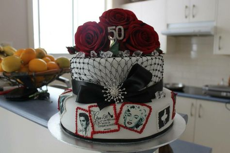 Fine Pin By Jenny Hannaford On My Cakes Cake 50Th Birthday Birthday Funny Birthday Cards Online Alyptdamsfinfo
