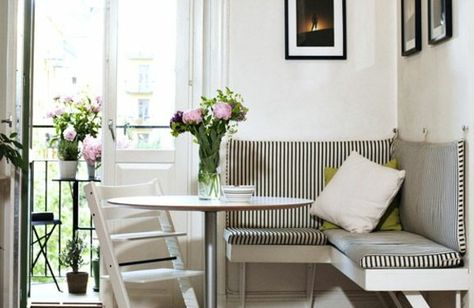 kleine-wohnung-essbereich-eckbank-runder-tisch-weißjpg 600×642 - runder küchentisch weiß