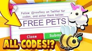 All Adopt Me Codes April 2020 In Roblox Trying Roblox Adopt Me Promo Codes In 2020 Coding Adoption Roblox