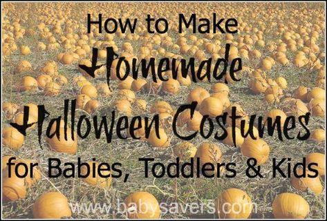 Photo of DIY hausgemachte Halloween-Kostüme für Babys, Kleinkinder & Kinder! – New Ideas