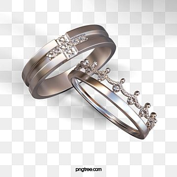 تاج خاتم الزواج عنصر 3d خواتم تاج خاتم الزواج Png وملف Psd للتحميل مجانا Vector Images Heart Icons Crown Wedding Ring