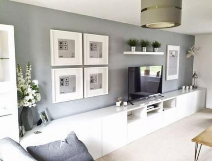 New House Living Room Decor Grey 67 Ideas Ikea Living Room Living Room Tv Unit Minimalist Living Room