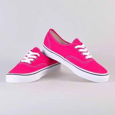1cc6f4760f New! VANS Authentic Women s Sneaker- Bright Rose   True White- Size ...