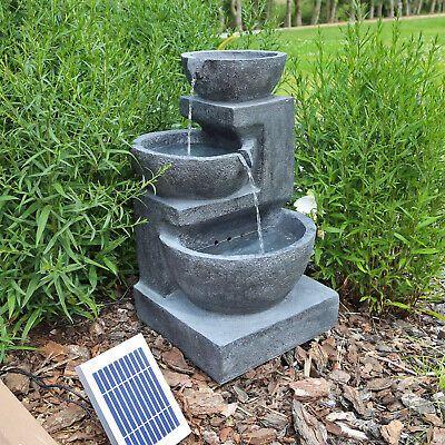 Finden Sie Top Angebote Fur Solarbrunnen Gartenbrunnen Solar Wasserspiel Fur Garten Kaskadenbrunnen Mit Akku Bei Springbrunnen Solarbrunnen Solarbrunnen Garten