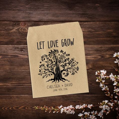 Wildflower Seed Packet, Wedding Seed Packet, #seedpackets #seedfavors #weddingfavors #weddingseedfavor #wildflowerseeds #letlovegrow #weddingseedpackets #rusticwedding #bohowedding #gardenwedding #seedpacketfavor #flowerseedpacket #rusticfavor