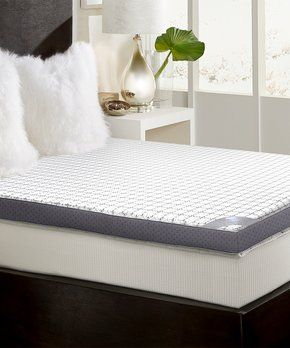 Poised For A Perfect Night S Sleep Zulily Memory Foam Mattress Topper Foam Mattress Topper Top Memory Foam Mattress
