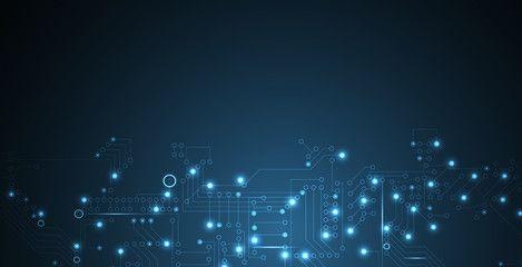 Digital Technology World Business Virtual Concept Vector Background Technology World Vector Background Background
