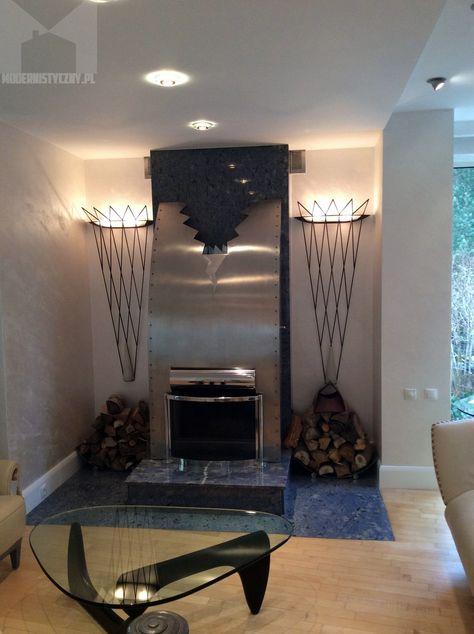 Corado Colorado Silver Wall Fireplace Farby I Tynki