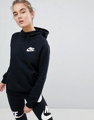 Nike Damen W Nsw Rally Hoodie Metalic Kapuzenpullover