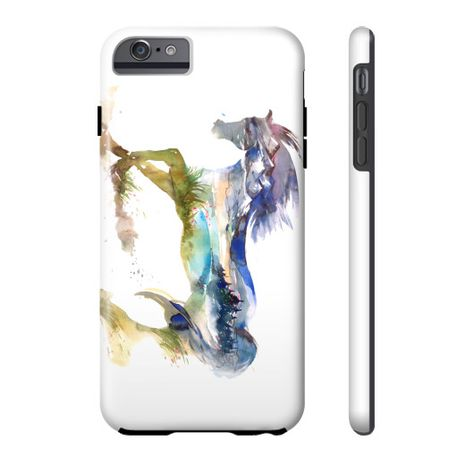 Equestrian Accessories - Horse Landscape - iPhone and Galaxy Cases