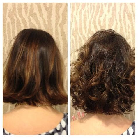Image Result For Short Hair Body Wave Perm Before And After Short Permed Hair Wave Perm Short Hair Permed Hairstyles