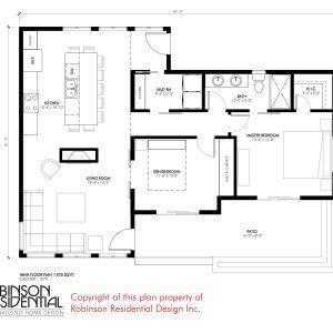 Contemporary Cascade 1070 House Plans Small House Plans