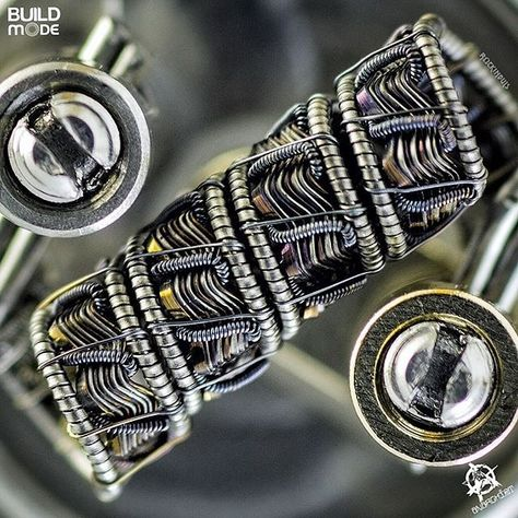 We're loving this crazy, complex build by @rockinbuls. www.beyondvape.com #RePin by AT Social Media Marketing - Pinterest Marketing Specialists ATSocialMedia.co.uk
