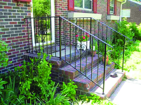 Deck Railing Tips Instances For Your House Outdoor Stair
