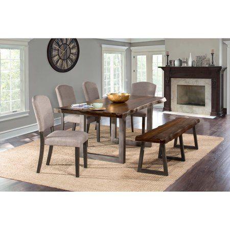 Hillsdale Furniture Emerson 6 Piece Rectangle Dining Set Mulitple