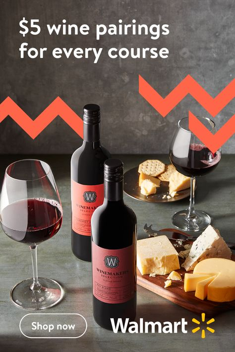 Celebrate the holidays with premium and affordable wine from Walmart's Winemakers. If you're looking for something sweet or savory, we have the varieties you need to create delicious pairings all season long. Please drink responsibly.