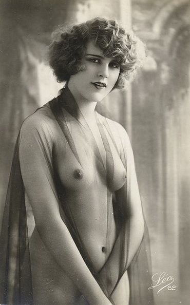 Mlle Jacqueline Schally (Schalley), 1925-1926, she has danced for two years at the Follies Bergere, 1926 most beautiful woman in France.
