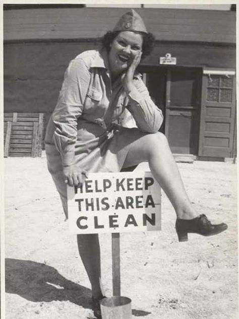 Even during wartime, Aunt Vicky was a stickler for freshness.