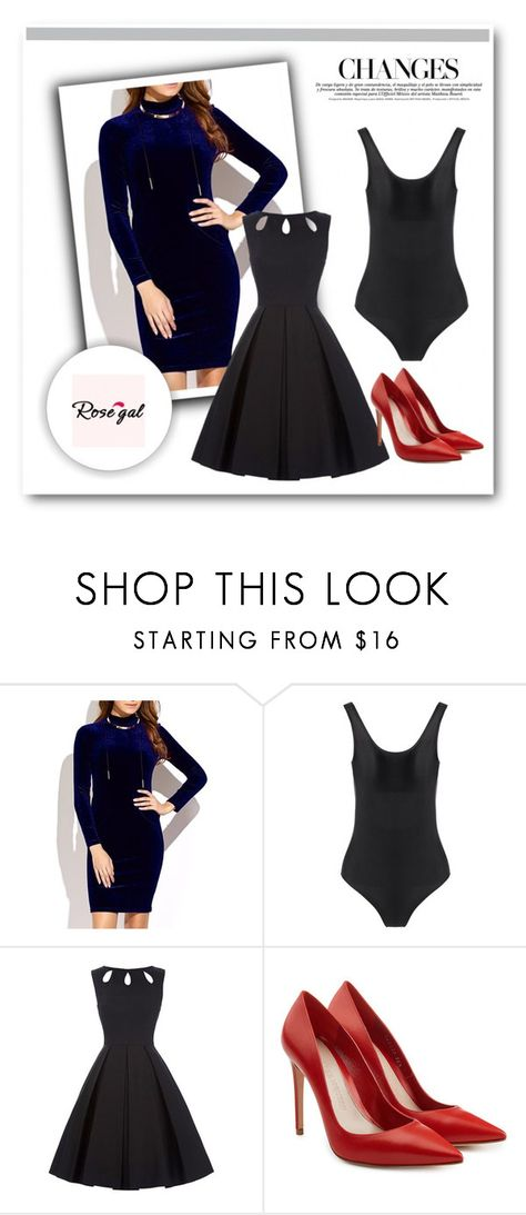 """""""Rosegal 87"""" by miincee ❤ liked on Polyvore featuring Alexander McQueen and vintage"""