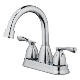 Home2o Parran Chrome 2 Handle Bathroom Sink Faucet H02l 421 Ch