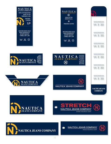 Designed and produced apparel trim. Which included embroidered, printed labels, hang tags and buttons.
