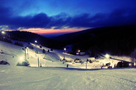 Seven Springs Mountain Resort-where I learned to ski