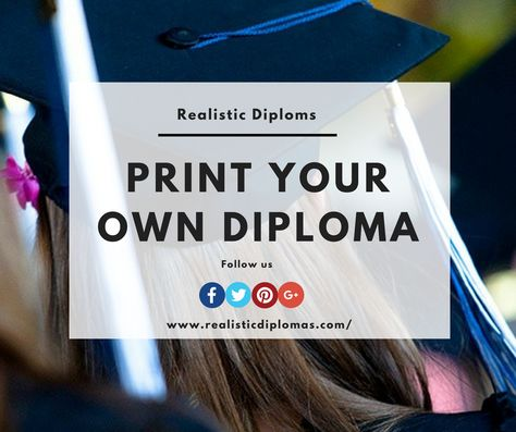 make your own quality authentic looking diploma and transcripts