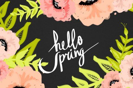 Spring In Scranton Hello Spring Wallpaper Spring Wallpaper Wallpaper Iphone Summer