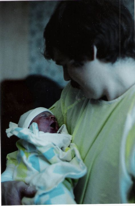 Our middle daughter Holly 1996 w/her daddy