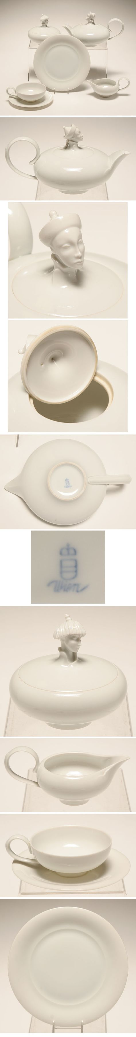FIRST Top rated Augarten Wien Michael Powolny Porcelain