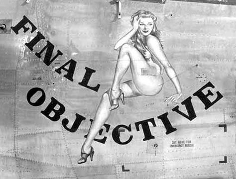 Sexy Friday: Memorial Day Tribute To Aircraft Nose Art And Pinup Girls