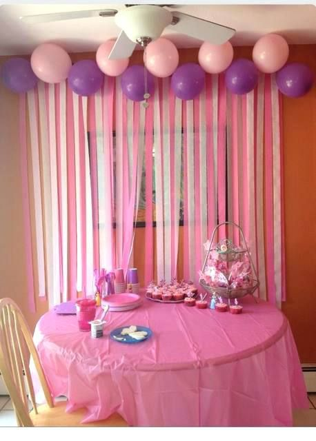 Crepe Paper Backdrop Girl Theme Pink White Peach Crepe Paper Streamer Tota Decoracion De Cumpleanos Guirnaldas Para Cumpleanos Decoracion De Fiestas Infantiles