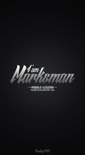 phone role marksman mobile legend by fachrifhr cinta