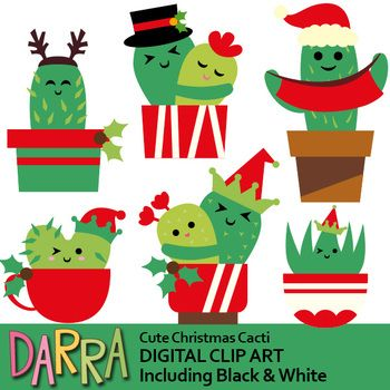 Christmas Clipart Cactus Clip Art Christmas Clipart Christmas Cartoons Clip Art