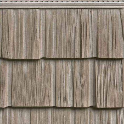 "ArchitecturalDepot.com: 10""W x 60""L Exposure, Vinyl Staggered Split Shakes, (23 Panels/Ctn.) - 10""W x 62 1/2""L Exposure, Vinyl Staggered Split Shakes, (23 Panels/Ctn. = 100 Sq. Feet) - 1201 by Architectural Depot"
