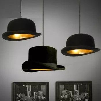 Lampe Im Hut Design Modern Moderne Lampen Esszimmer Wohnzimmer In 2019 Vintage Pendant Lighting Pendant Lighting Und Chandelier Lamp