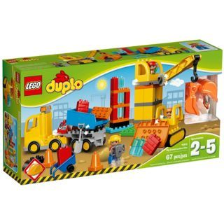 Big Construction Site 10813 Duplo Buy Online At The Official Lego Shop Gb Lego Duplo Lego Imagination Toys