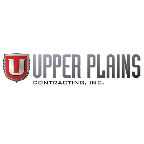 Upper Plains Contracting Inc Logo Designed By Mcquillen Creative