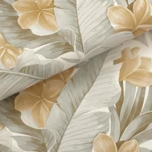 Nuwallpaper Neutral Paradise Vinyl Strippable Roll Covers 30 75 Sq Ft Nu2927 The Home Depot Nuwallpaper Peel And Stick Wallpaper Peelable Wallpaper