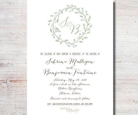 Probe Abendessen Einladungsvorlage Hochzeitsprobe Editierbar