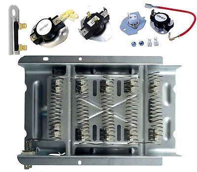 Details About Ned4600yq1 Amana Dryer Heating Element Thermostat