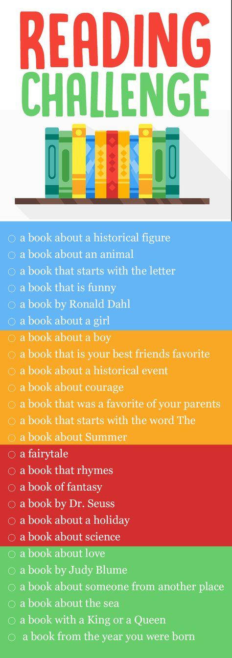Kids FUN Reading Challenge!