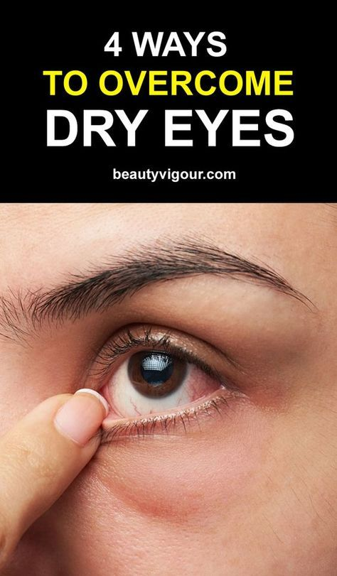 4 Ways to Overcome Dry Eye | health tips | Dry eye remedies