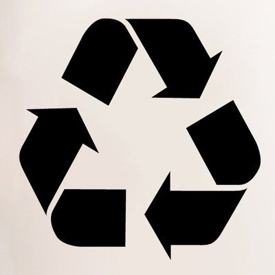 Sweetumswalldecals Recycle Symbol Wall Decal In 2021 Recycle Symbol Recycle Logo Symbols