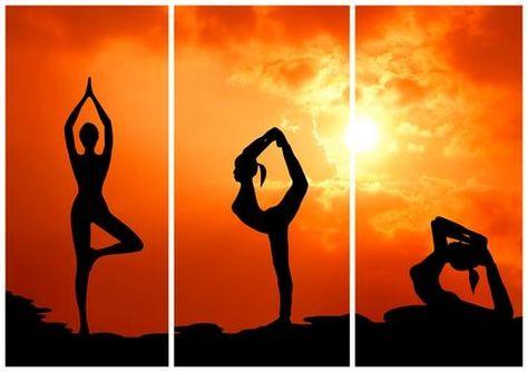 #DiaInternacionalDelYoga El yoga te centra en el momento presente, el único lugar donde realmente existes