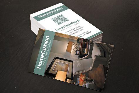 Interior Design Business Cards by Creativenauts on Creative Market