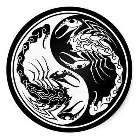 Yin and Yang #Scorpion #Scorpio #Zodiac #Astrology For more Scorpio related posts, please check out my FB page, … | Scorpion tattoo, Scorpio art, Marquesan tattoos